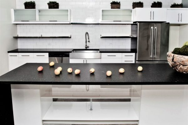 Arden Blue Silestone Kitchen Countertop