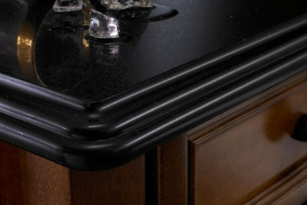 Black Anubis Silestone Kitchen Countertop