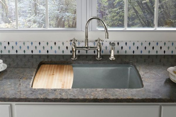 Copper Mist Silestone Kitchen Countertop