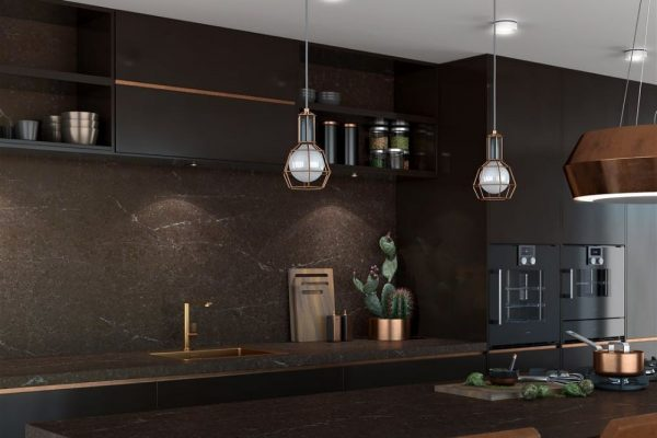 Emperador Silestone Kitchen Countertop