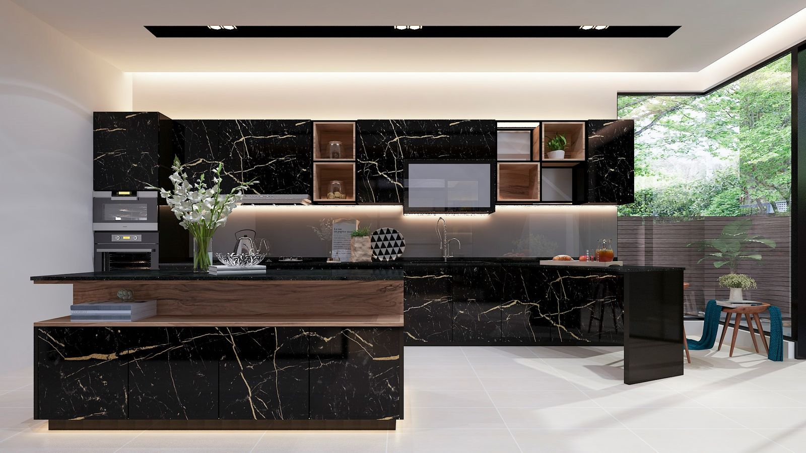 Himmel Urban Luxurious Kitchen Cabinet Malaysia