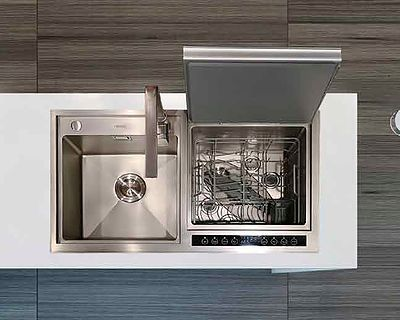 IDW20 MACHT Integrated Sink Dishwasher