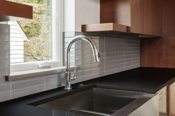 Iconic Black Silestone Kitchen Countertop