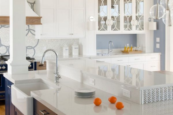 Lyra Silestone Kitchen Countertop