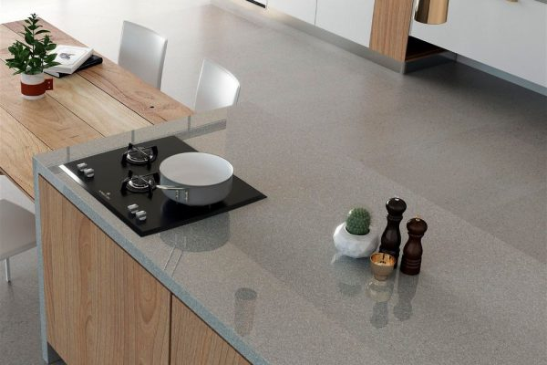 Manhattan Dekton XGloss Kitchen Countertop