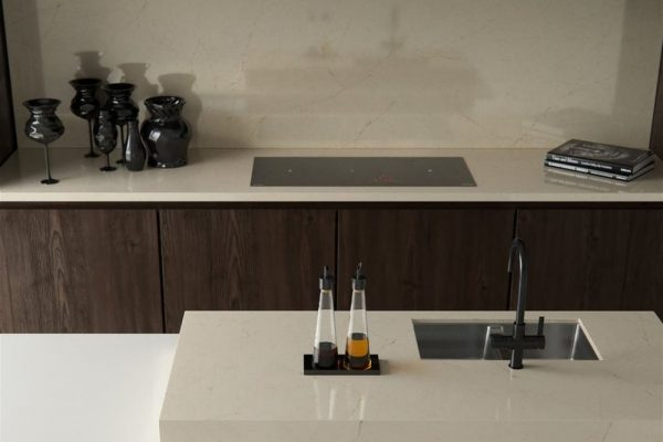Marfil Silestone Kitchen Countertop