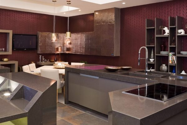 Merope Silestone Kitchen Countertop