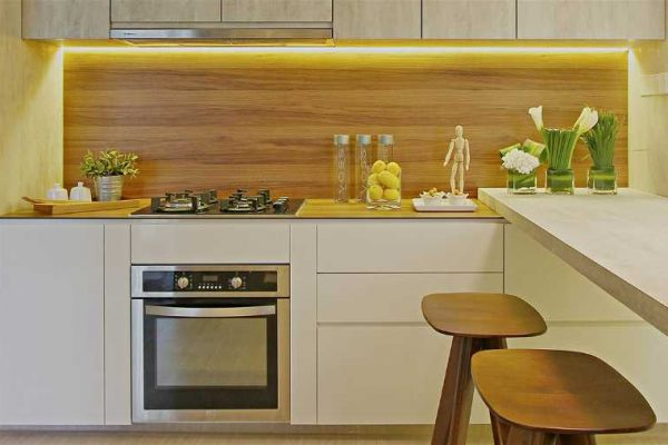 New York Teak Dendron Wood Series KompacPlus Kitchen Countertop
