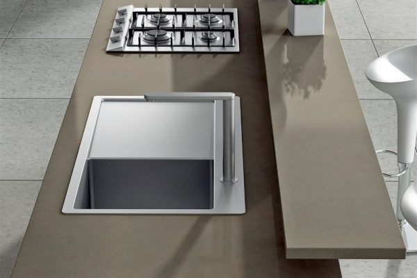 Noka Silestone Kitchen Countertop