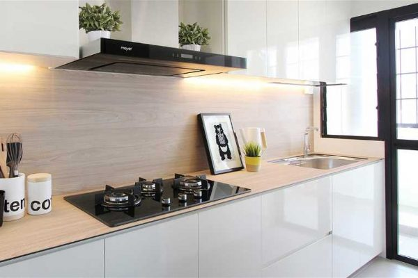 Ottavia Noce Dendron Wood Series KompacPlus Kitchen Countertop