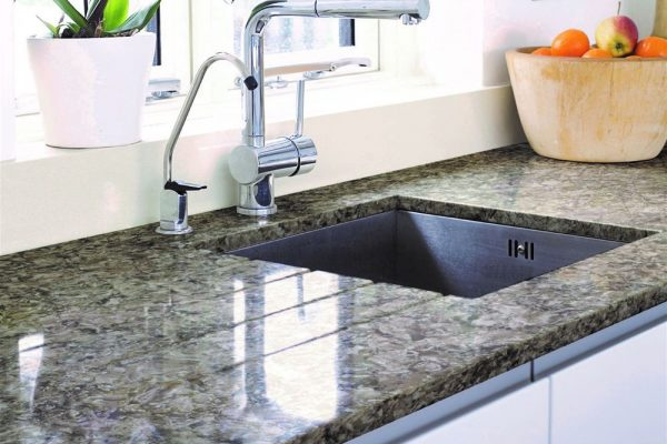 Pacific Silestone Kitchen Countertop