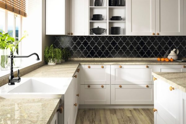 Quasar Silestone Kitchen Countertop