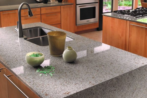 Riverbed Silestone Kitchen Countertop
