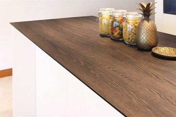 Turro Ebony Dendron Wood Series KompacPlus Kitchen Countertop