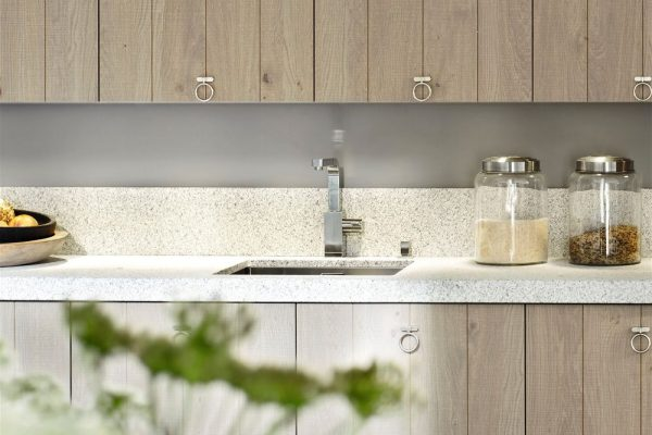 White North Silestone Kitchen Countertop