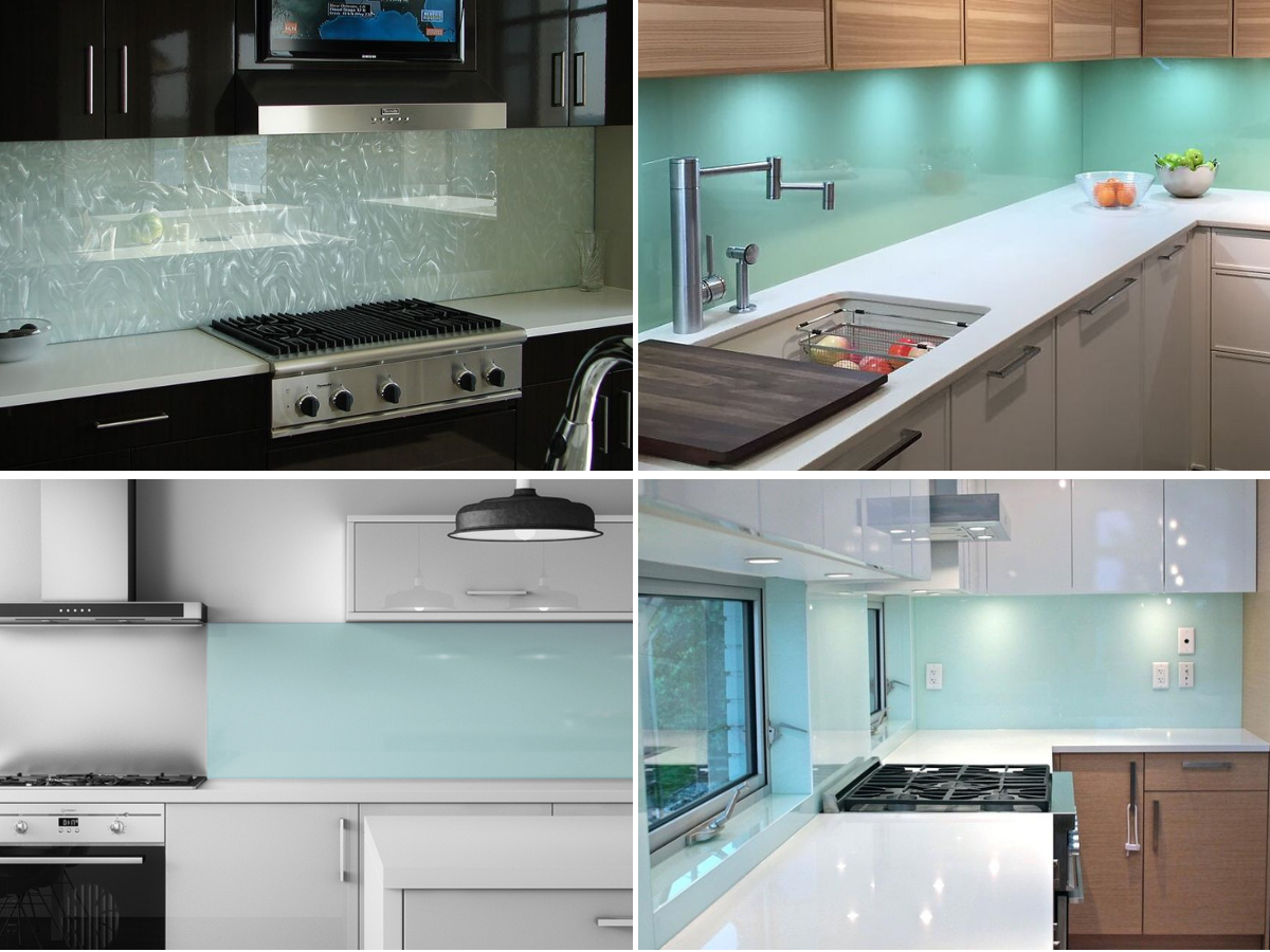 glass-panel-backsplash-modern kitchen
