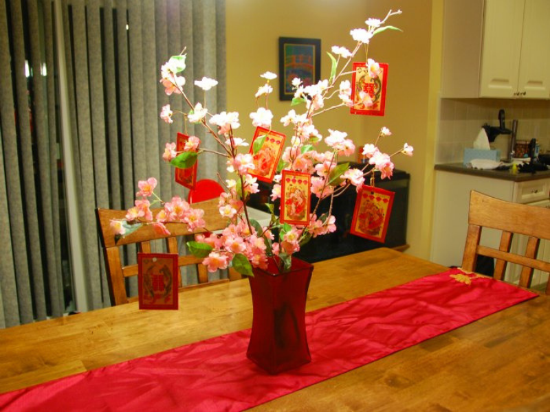 Chinese New Year Vase