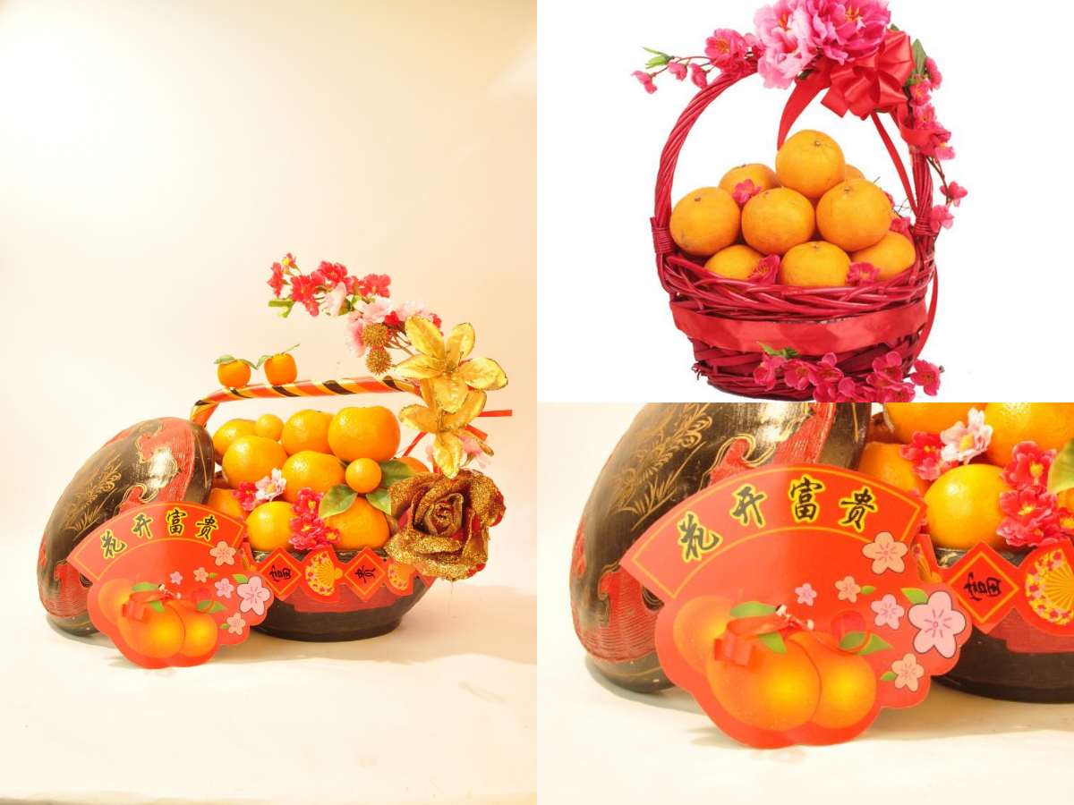 Basket of Orange