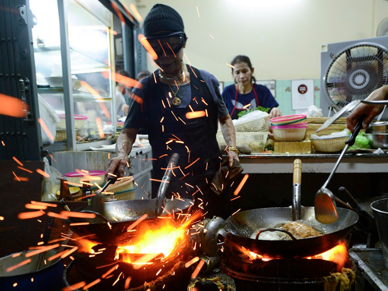 gas cooking hawker
