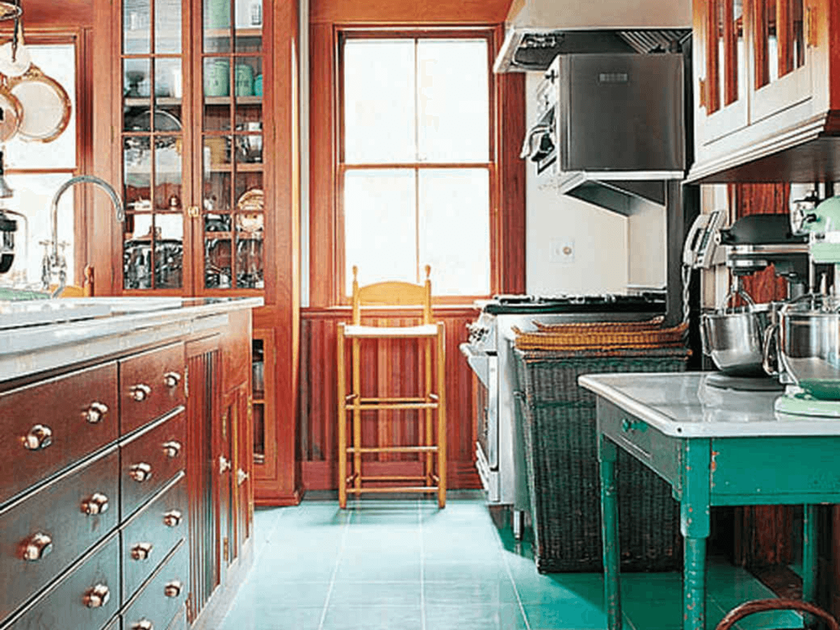 martha stewart lily pond lane kitchen