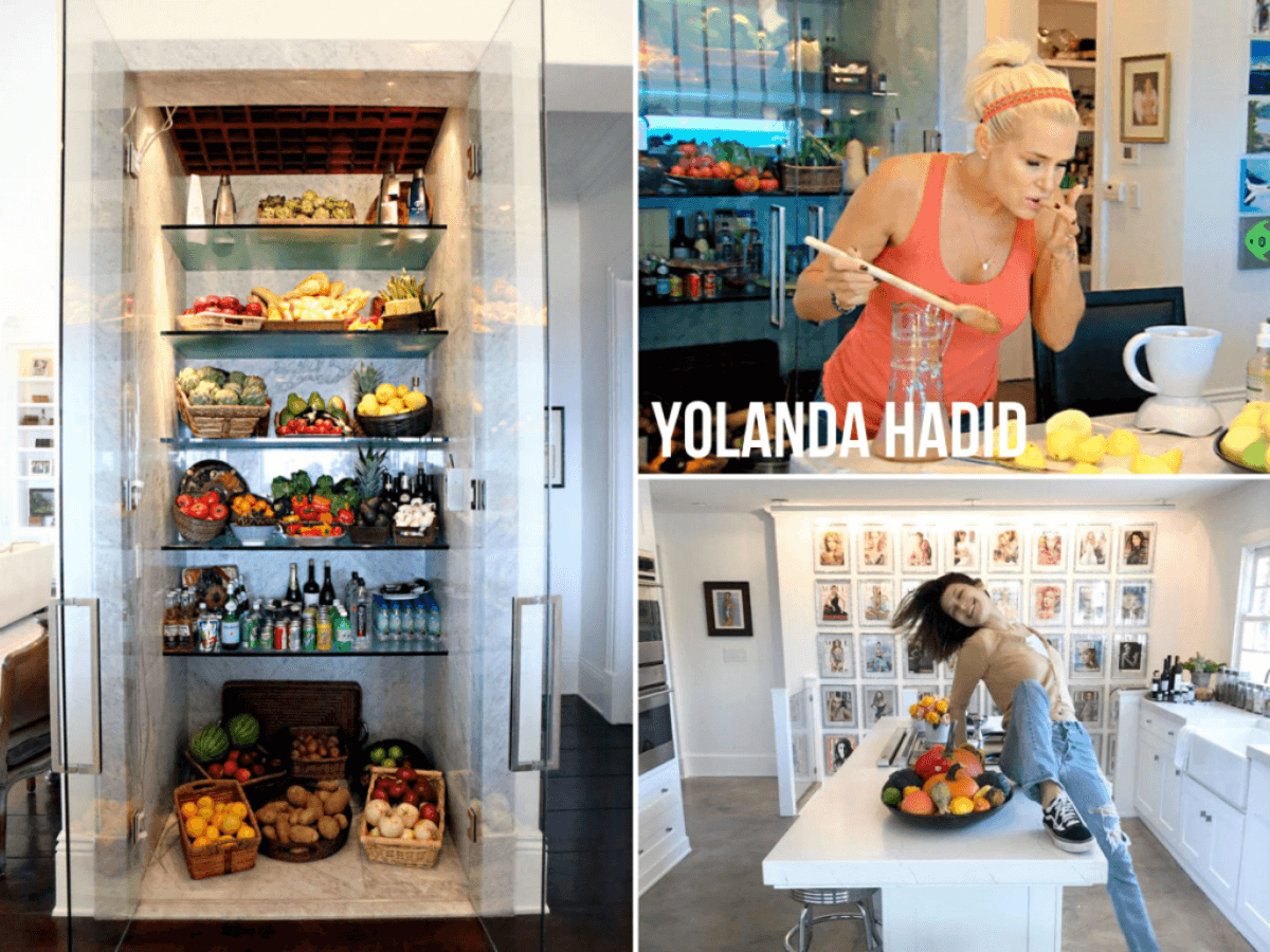 yolanda hadid kitchen