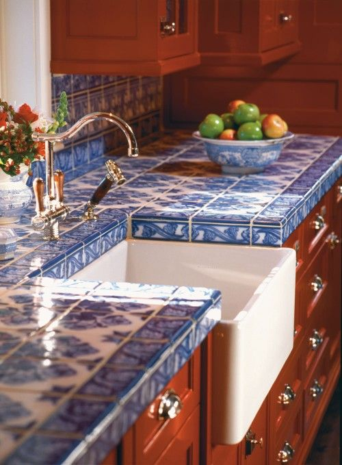 Tile Kitchen Countertop