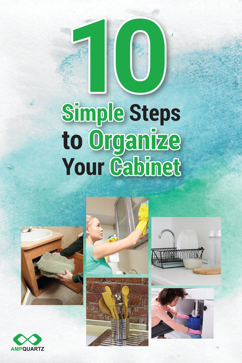 Teach you 10 steps to organize your kitchen cabinets
