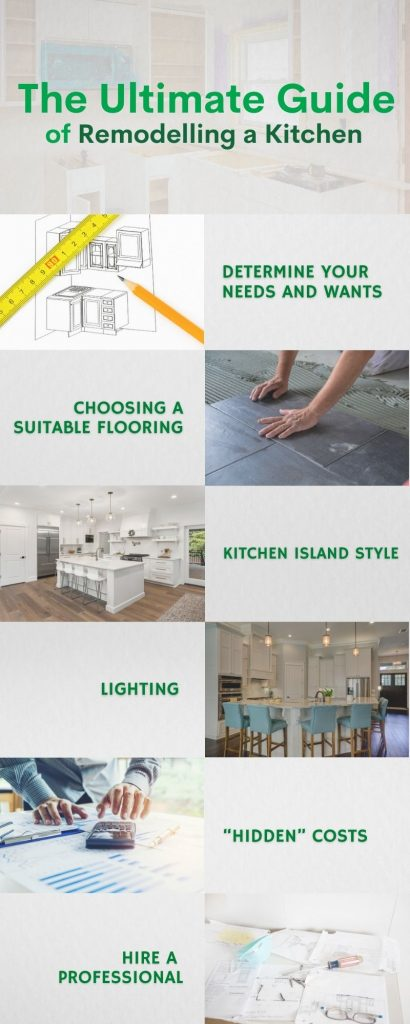 THE ULTIMATE GUIDE OF REMODELLING A KITCHEN
