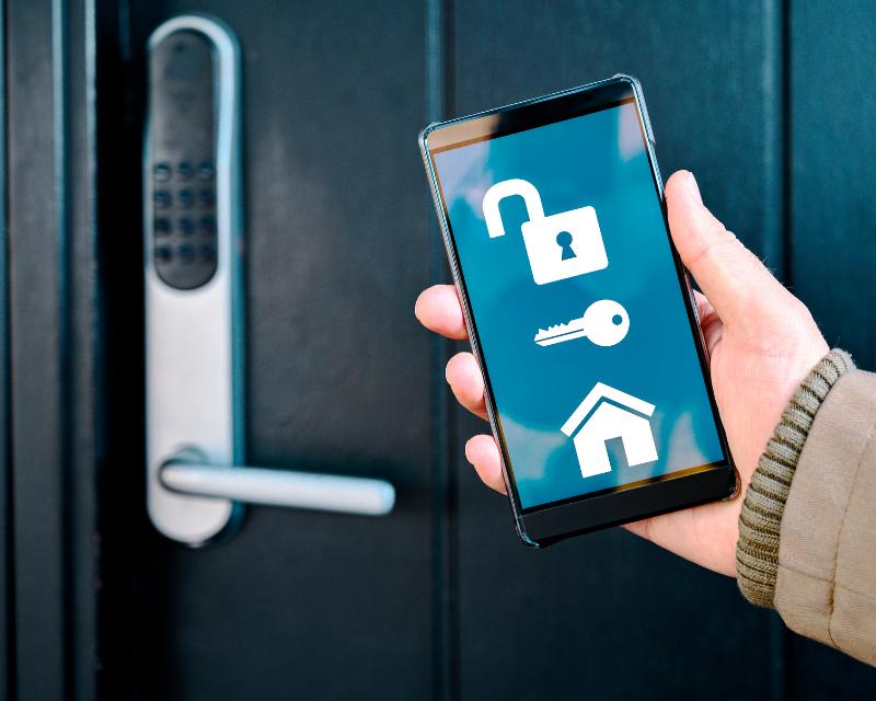 digital lock app