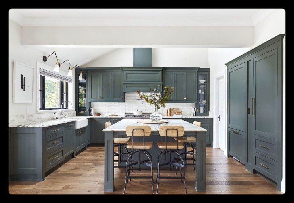 Modular Kitchen Cabinets Color Combinations
