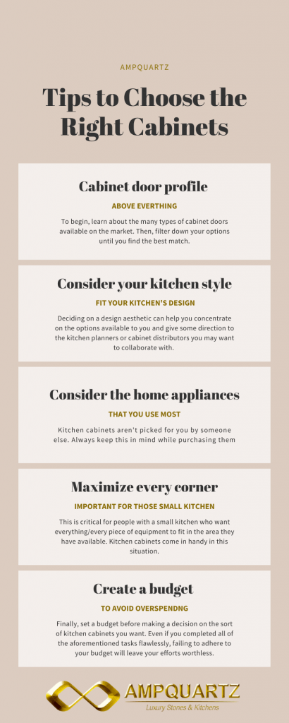 How to choose the right kitchen cabinets