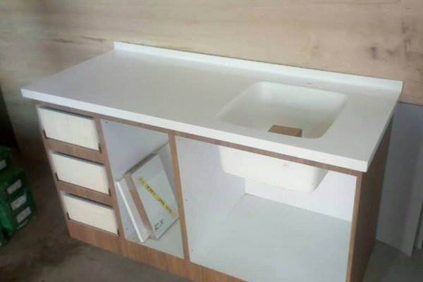 Kulai - Solid Surface Pantry Top