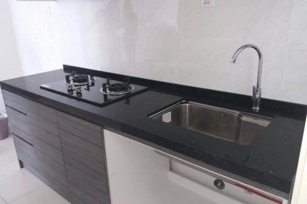 Taman Kempas Utama - Quartz Kitchen Top 01