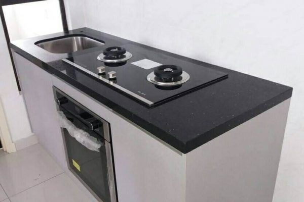 Taman Kempas Utama - Quartz Kitchen Top 02