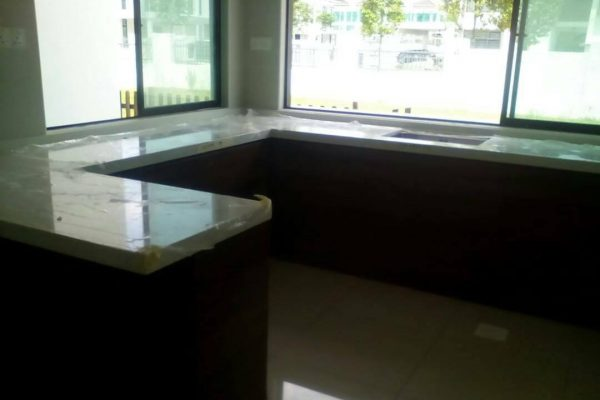 Taman Kota Masai - Quartz Kitchen Top