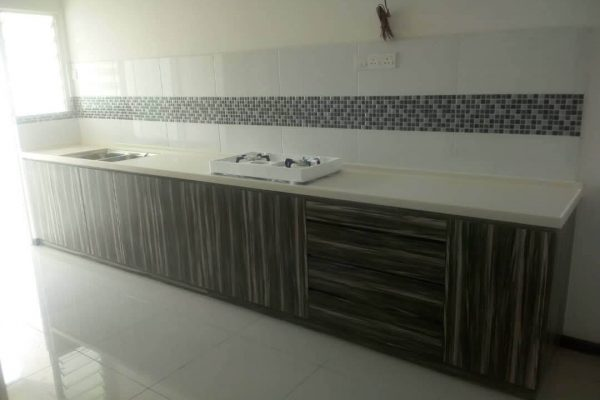 Taman Megah Ria - Solid Surface Kitchen Top