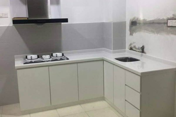 Taman Mutiara Mas - Solid Surface Kitchen Top