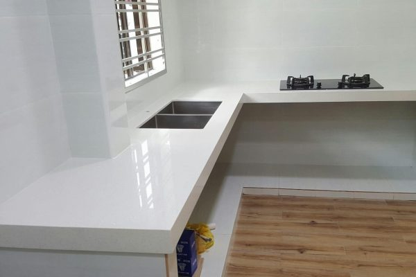 Taman Mutiara Rini - Quartz Kitchen Top 04