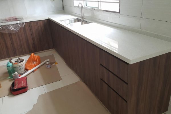 Taman Mutiara Rini - Quartz Kitchen Top 05