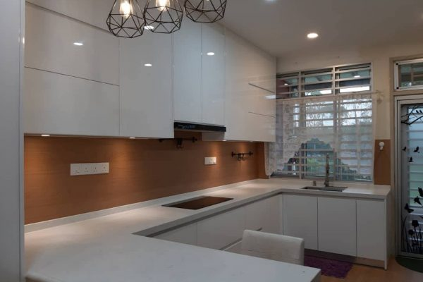 Taman Nusa Idaman - KompacPlus Kitchen  Feature Wall