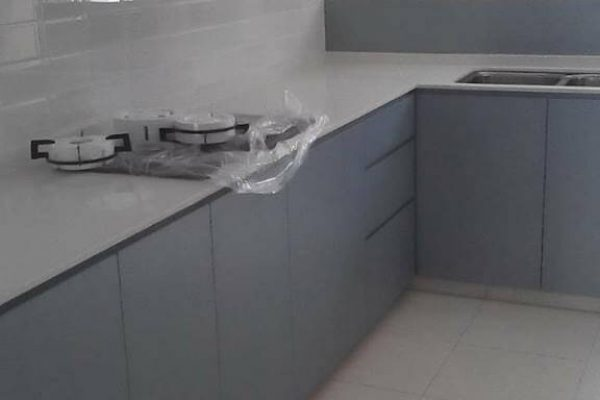 Taman Scientex Senai - Quartz Kitchen Top