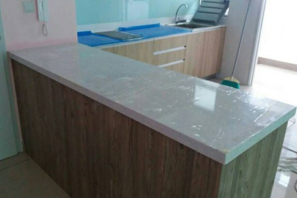Taman Sierra Perdana - Quartz Kitchen Top