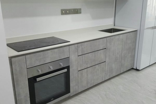 Taman Sutera - Quartz Kitchen Top