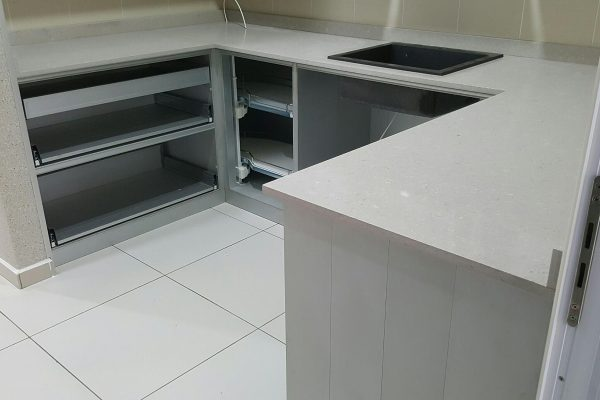 Taman Sutera Utama - Quartz Kitchen Top
